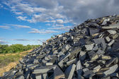 Abandoned slate mine — Stock Photo