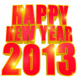 Happy new year 2013 — Stock Photo #12566813