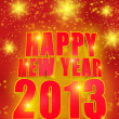 Happy new year 2013 — Stock Photo #12566822