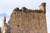 Rovine di primo piano della torre medievale — Foto Stock