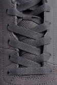 Closeup shoelace — Stock Photo