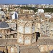 Aerial view city of Valencia, Spain — Photo