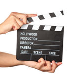Lights, camera, action! — Stock Photo
