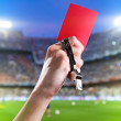 Red card — Stock Photo #34181587