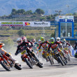 Stock Photo: Supermoto Spain Championship