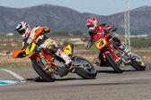 Supermoto Spain Championship — Foto Stock