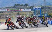 Supermoto Spain Championship — Stockfoto