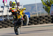 Supermoto Spain Championship — Stock Photo
