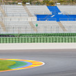 Stock Photo: Motor Racetrack
