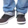 Jeans & sport shoes — Stock Photo #36565391