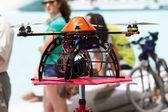 Elicottero drone — Foto Stock