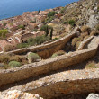 Fortress Wall, Monemvasia, Greece — Lizenzfreies Foto