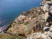 Fort of Monemvasia, Hellas — Stock Photo