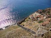 Medieval Fort of Monemvasia, Hellas — Stock Photo