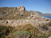 Monemvasia, Peloponnese, Greece — Stock Photo