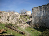 Ruins of St Theodore Monastery, South Albania — Stock Photo