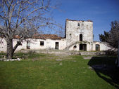 Abandoned Monastery of Saint Theodore, Ilias Village, Albania — Stock Photo