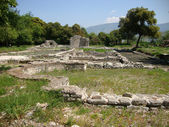 The Albanian Archaeological city of Butrint — Stock Photo