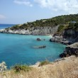 Xigia beach, Eastern Zante, Greece — Stock Photo