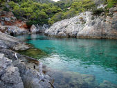 Porto Limnionas, Zante island, Greece — ストック写真