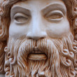Zeus statue, Rhodes island, Greece — Stock Photo