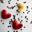 Three hearts — Stock Photo