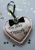 Do not disturb door sign — Stock Photo