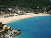 Jal beach, Albanian riviera — Stock Photo
