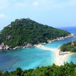 View of Nangyuan island, Thailand — Stock Photo