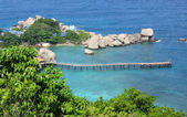 View of Nangyuan island, Thailand — Stock Photo