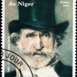 Stock Photo: Giuseppe Verdi Stamp