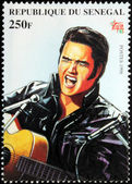 Presley - Senegal Stamp#3 — Stock Photo