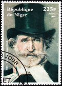 Giuseppe Verdi Stamp — Stock Photo