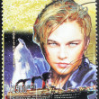 Leonardo DiCaprio Stamp — Stock Photo