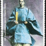 Постер, плакат: Emperor Hirohito Stamp