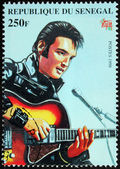 Presley - Senegal Stamp#6 — Stock Photo