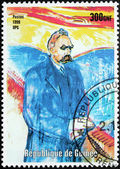 Nietzsche Stamp — Stock Photo