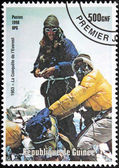 Mont Everest Stamp — Stock Photo