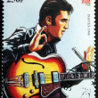 Presley - Senegal Stamp#7 — Stock Photo #12524665