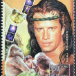 Christopher Lambert Stamp - Stock Photo