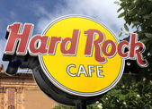 Hard rock cafè — Foto Stock
