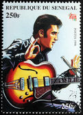 Presley - Senegal Stamp#7 — Stock Photo