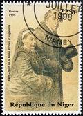 Queen Victoria Stamp — Stock Photo