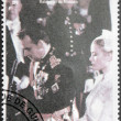 Grace Kelly and Prince Rainier III — Stockfoto