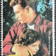 James Dean Stamp — Stock Photo