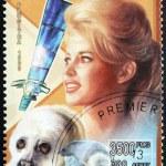 Постер, плакат: Brigitte Bardot Stamp