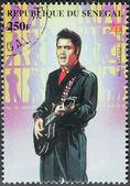 Presley - Senegal Stamp#8 — Stock Photo