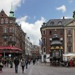 Nygade Street (Stroget), Copenhagen — Stock Photo