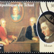 Mozart Stamp — Stock Photo