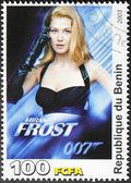 Rosamund Pike Stamp — Stock Photo